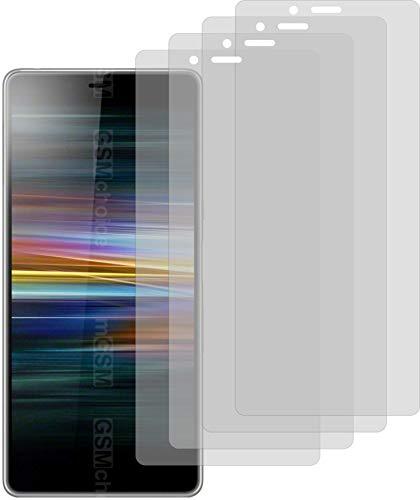 4X ANTIREFLEX matt Schutzfolie für Sony Xperia L3 Displayschutzfolie Bildschirmschutzfolie Schutzhülle Displayschutz Displayfolie Folie