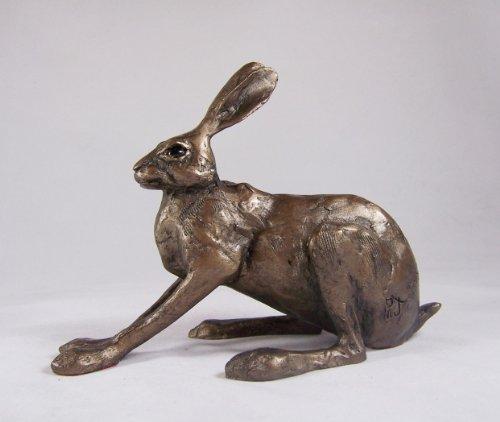 Bronzeskulptur Hilary Hare von Paul Jenkins Bronze Tier Skulptur