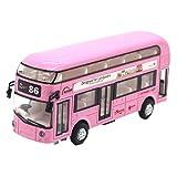 Giplar Alloy Doppeldecker Tourbus Klimatisierter Bus Stadtbus Modell Für Kinder - Pull Back Cars