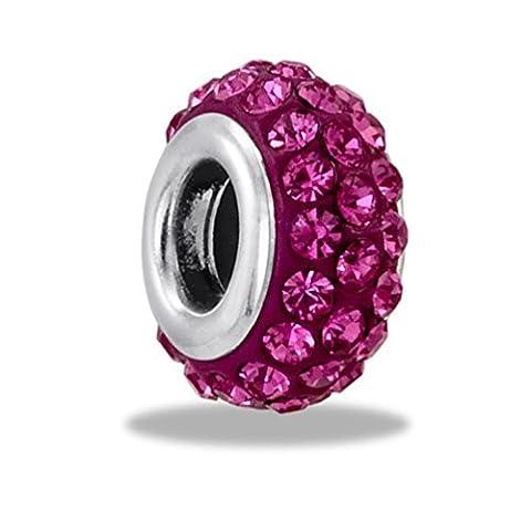 DaVinci Bead October 3 Row Crystal - Jewelry Bracelet Memories Beads DB44-8-DAV by Center Court