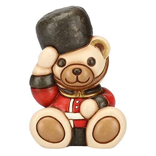 Thun® - teddy on the road londra piccolo - animali soprammobili da collezione - ceramica - i classici