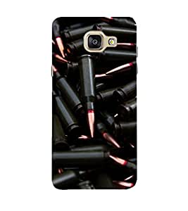 PrintVisa Designer Back Case Cover for Samsung Galaxy A5 (2017)::Samsung Galaxy A5 (2017) Duos with Dual-SIM Card Slots (Assorted Bullets Pattern)