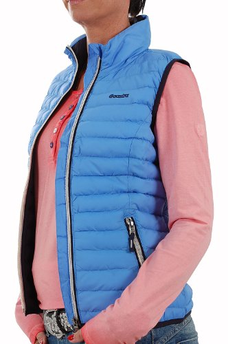 Gaastra Damen Soft/Light Weste Kobe navy Blau