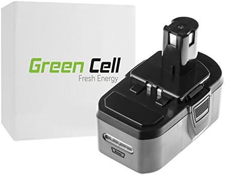 verde Cell® Utensili Elettrici Batteria Batteria Batteria per Ryobi P549 (Panasonic Li-Ion celle 5 Ah 18V)   Facile da usare    Buon Mercato    Stravagante  607fe4