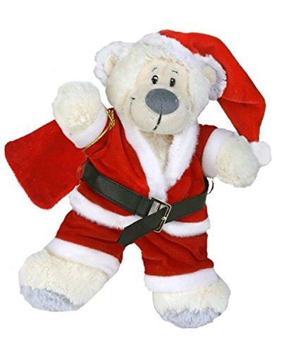 Santa Claus Teddybär Outfit (20,3cm) (Claus Outfit Santa)