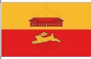 Königsbanner Hochformatflagge Lübesse - 150 x 500cm - Flagge und Fahne