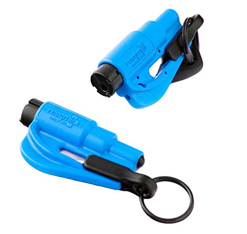 Resqme 04.100.02 Keychain Car Escape Tool (Set of 2, Royal Blue)