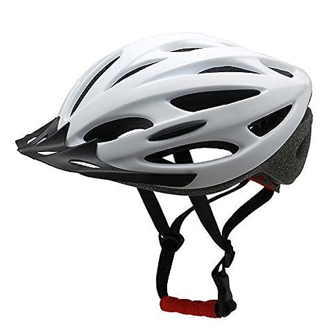 Ezyoutdoor Cycling Unisex White Bike Helmet Sports Ultralight Severally Mold