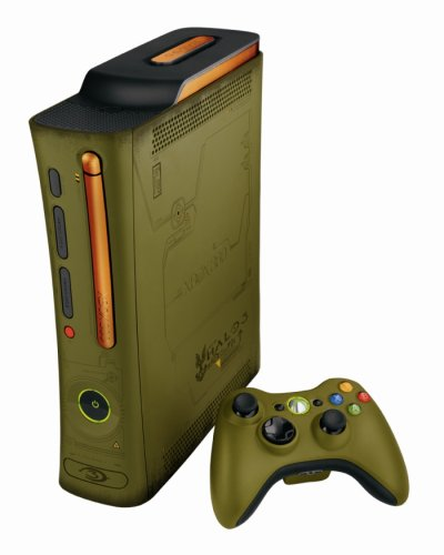 Xbox 360 - Konsole mit 20 GB Festplatte & Wireless Controller - Halo 3 Special Edition (360 Limited 3 Halo Edition Xbox)