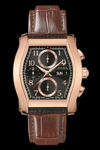 Bulova Accutron 64C000 orologio automatico ETA Valjoux 7750 Crono Day-Date