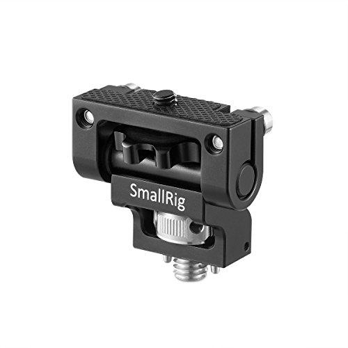 SMALLRIG Monitorhalterung mit 3/8 Fixierstiften und Einstellbarer Rotationsachse Kippreibung Bis 180 ° für 5 '' und 7 '' Monitor Bis zu 1,5 kg 2174