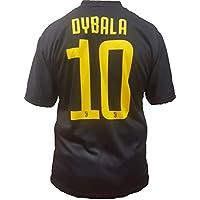 Terza Maglia Nera Juventus Paulo Dybala 10 Replica Autorizzata 2018-2019 Bambino (Taglie-Anni 2 4 6 8 10 12) Adulto (S M L XL) (L)
