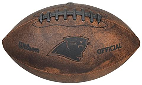NFL Carolina Panthers Vintage Throwback Football, 9-Inches