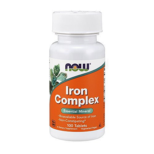 NOW Foods Iron Complex 100 tablets by Now Foods