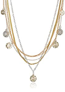 Swan Chain Necklace For Women (Silver and Copper) (AN- 20)