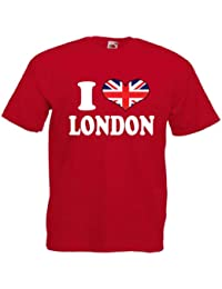 I Love Heart London Mens T Shirt