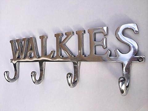 WALKIES Dog Pet Lead Leash Holder Rack 4 Hooks