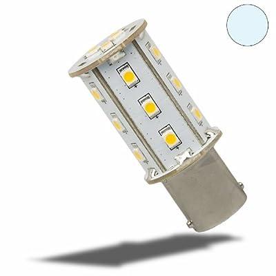Isolicht LED BA15d Leuchtmittel, 10-30V/DC, 18SMD, 2,4 Watt, kaltweiss von Isolicht auf Lampenhans.de