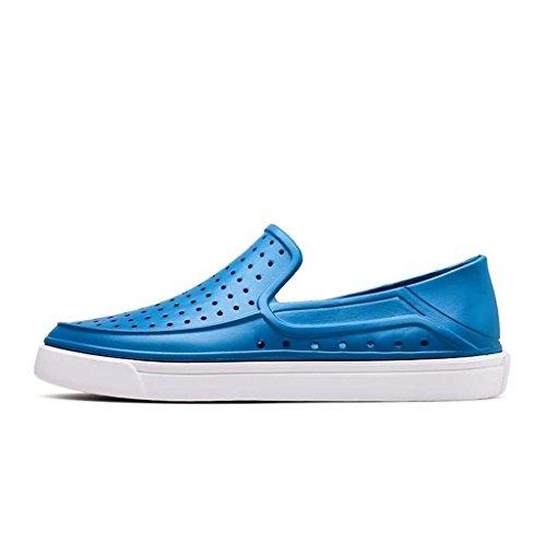 Zxcv Chaussures D'extérieur Ensemble De Pieds Pliants Respirants Chaussures Simples Chaussures Légères Pour Hommes Ciel Bleu