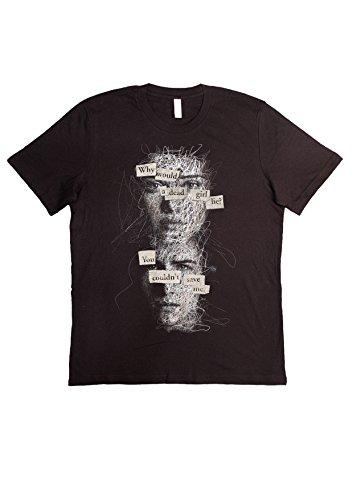 T-Shirt 13 Reasons Why Netflix Serie TV TV Series Artwork (Überprüfen Sie Ihre Grösse von UNSEREM Grössen-Führer) Unisex Fashion 100% Baumwolle