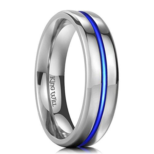 Kingwill  -  Titanium Ring  Titan     keine Angabe  (Herren Titan Fashion-ringe)