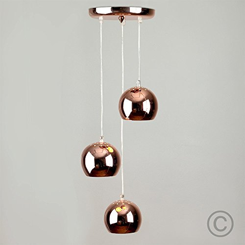 Copper Ceiling Lights: Amazon.co.uk
