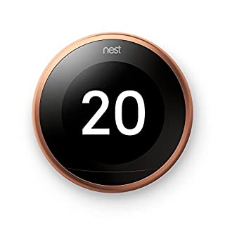 Nest Learning - Termostato Inteligente de 3 A Generación, Cobre (B077Y8G5YN) | Amazon Products