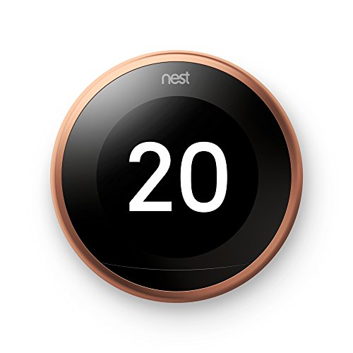 Nest Learning Thermostat 3rd Gen Copper T3031EX
