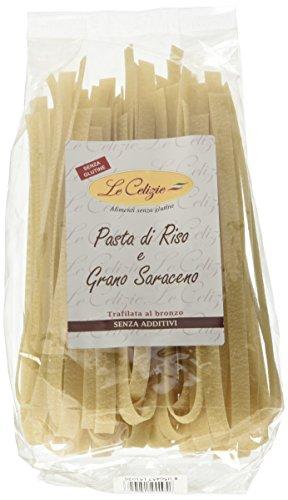 Le Celizie Pappardelle di Riso e Grano Saraceno 250 gr - 1 pz., Senza glutine