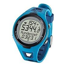 Sigma Sport Pulsuhr PC 15.11 neues Design, Herzfrequenz mit Brustgurt, EKG genau, wasserdicht, Blue
