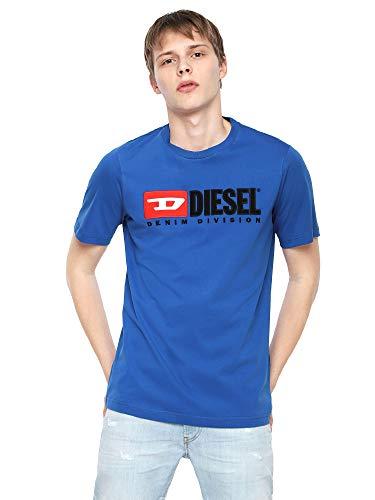 Diesel Herren T-Shirts Just-Division blau M -