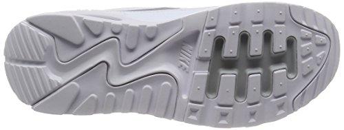 Nike Damen Wmns Air Max 90 Ultra 2.0 Sneakers, Elfenbein (White/Mtlc Platinum/White/Black), 38 EU - 3