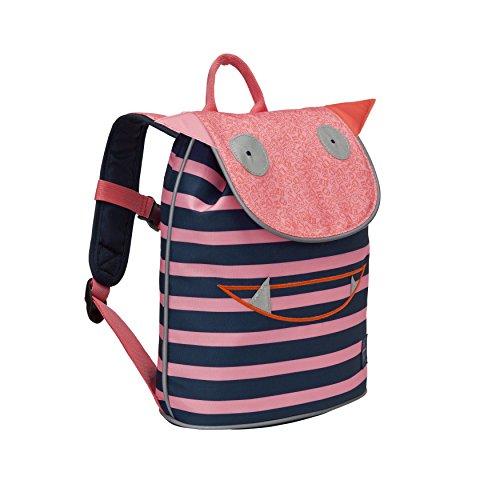 LÄSSIG Kinderrucksack Mädchen mit Brustgurt Kindergartenrucksack Kinder Tasche / Mini Duffle Backpack, Little Monsters