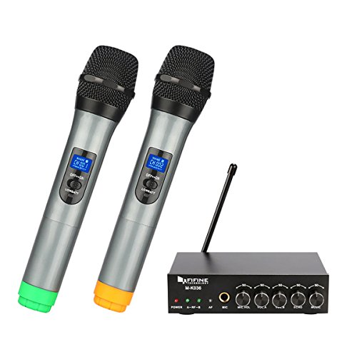 Dual Channel Wireless Handheld Microphones