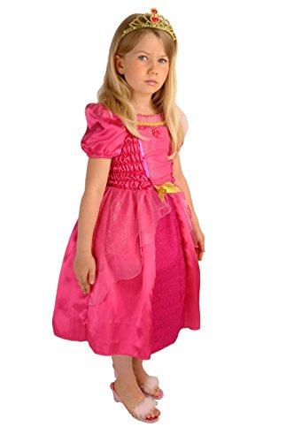 Raiponce Disney Kostüm - Upyaa-430220-Prinzessin Valentine in House Luxe-Größe 102cm-3/4Jahre