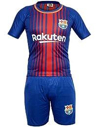 Sportyway Kids Messi 10 FC Barcelona Football Jersey Set