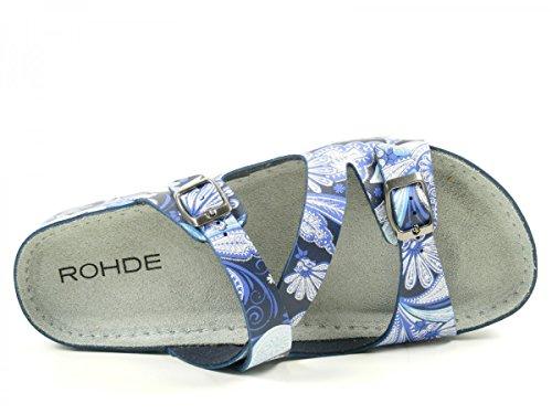 Rohde - 5806, Sabot Donna Blau
