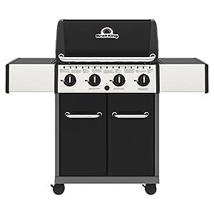 41QsEZCXPdL. SS300  - Broil King Crown 420 Gas Barbecue, Black, 135x58x117 cm