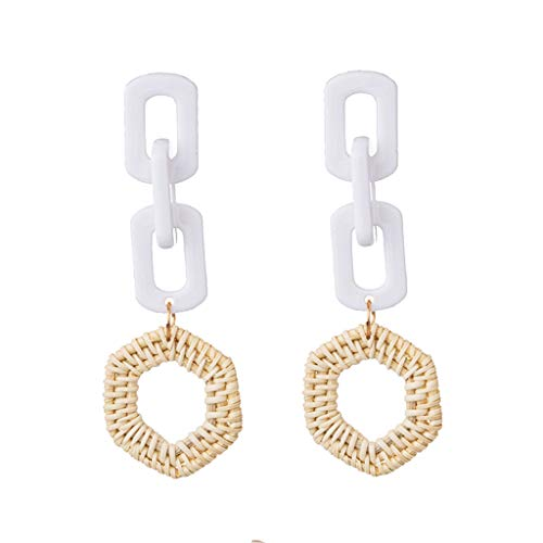UINGKID Damen Ohrringe Mode Ohrstecker geometrische Multilayer Nesting Ohrring Schmuck