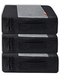 Coolzon® Packing Cubes Bolsa de Almacenamiento de Viaje Organizador Equipaje Organizador de Compresión Zapatos Set