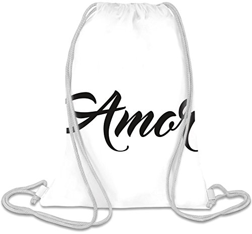 Amor T-shirt Kordelzug Beutel