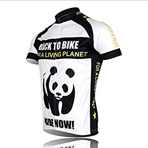 41QsGLX7P8L. SS300 Shenshan Cycling Jersey Abbigliamento per Uomini in Mountain Bike Camicie Maniche Corte Sport
