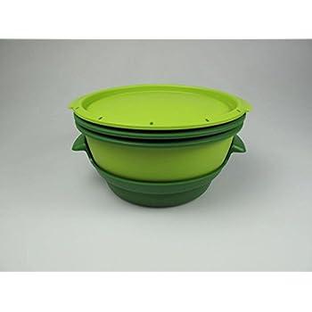 TUPPERWARE Mikrowelle MicroGourmet Dampfgarer grün Mikro