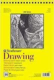 Strathmore Drawing Serie 300, Zeichenblock DIN A4, 114 g/m², 50 Blatt