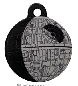 Platinum Pets Star Wars 1.5-Inch Smartphone Pet ID Tag with GPS, Death Star Design, tags online Animal de compagnie / familier, Chouchou