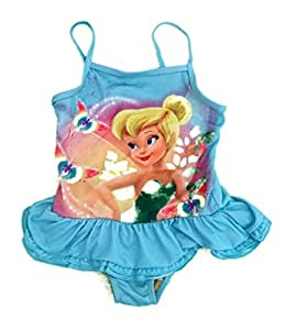 Disney Tinkerbell Swimming Costume Age 3 Years