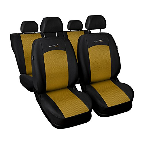 (S-Y) Universale Set coprisedili auto compatibile con SUBARU (FEORESTER, IMPREZA, LEGACY, (2006 Subaru Legacy Sedan)