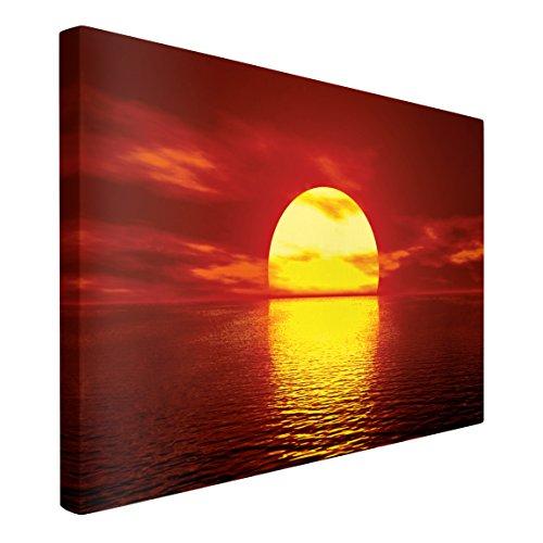 Leinwandbild Sunset Caravan