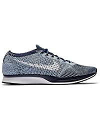 timeless design 7f73c 8c110 NIKE Flyknit Racer Pure Platinum - Pure Platinum Cool Grey-White Trainer