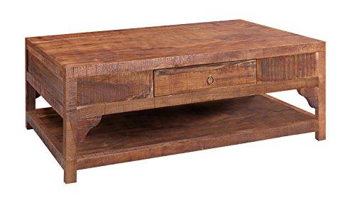 Wolf Möbel CHINA 8275 Couchtisch mit 1 Schublade 110x70, Holz, forest, 70 x 110 x 40 cm